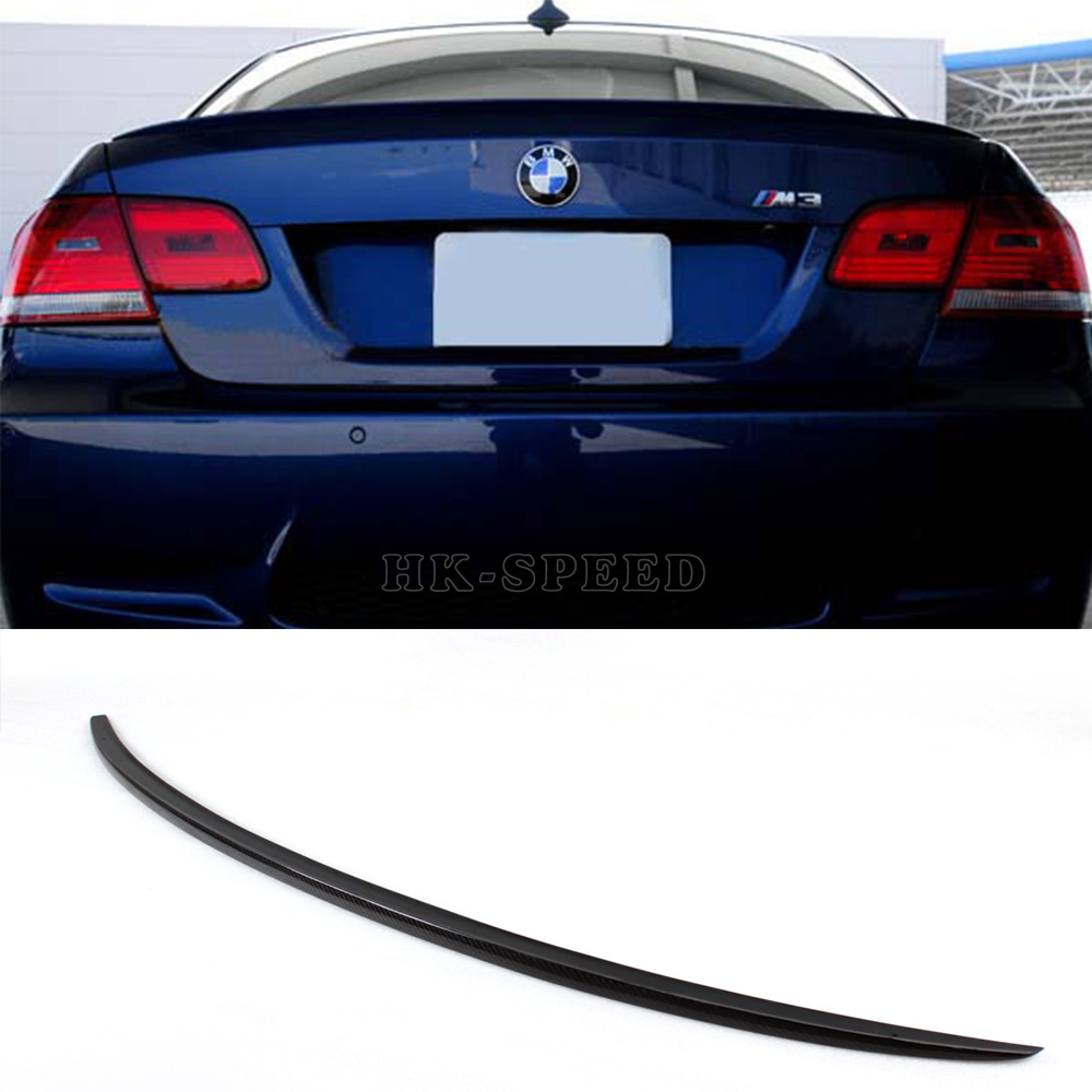 E92 M3 style carbon fiber Auto Car Rear Wing Spoiler For BMW E92 2008-2011<br><br>Aliexpress