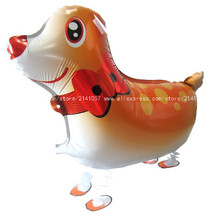 50pcs/lot Lovely Sika Deer balloon walking balloons animals inflatable ballon for kids gift kids classic toy free shipping
