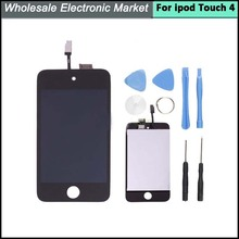For iPod Touch 4 4th 4 GEN LCD Display Replacement with Touch Screen Glass Digitizer Assembly with tools Free Shipping