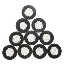 "Best Price 10pcs Filter Rubber Gaskets Washer with Stainless Steel filter 1/2"" Home Shower Net Rubber Washer Sink Strainer Tool"
