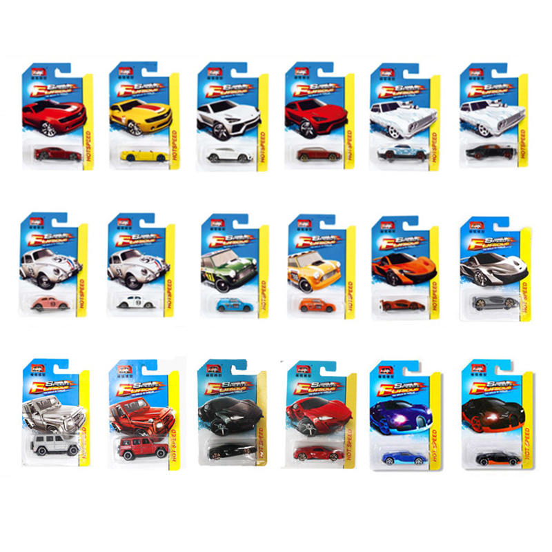 1:64 7CM Fast & Furious Metal Sport Cars Model Toys Kid's Die Casting Auto Free Choice Alloy Pocket Car Toys For Children Gifts(China)