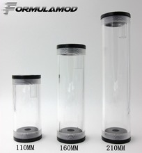 FormulaMod 110 160 210 MM 50MMdiameter cylindrical water-cooled tank accessories complete PMMA water tank water cooling computer