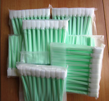 Post free shipping - 200 pcs Solvent Cleaning Swabs swab for Large Format Roland Mimaki Mutoh Printers