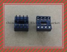 60PCS/LOT 8pin DIP IC sockets Adaptor Solder Type 8 pin
