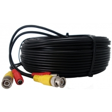 New 4Roll CCTV Cable 5m Extension Cable Video & Power BNC +DC plug cable for CCTV Camera DVR Kit(China)