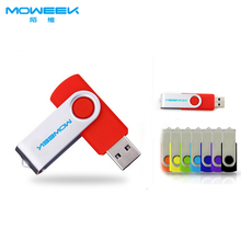MOWEEK M01 Fashion Rotate USB Flash drive real capacity 4/8/16/32 GB USB stick High quality usb 2.0  computer  pen drive