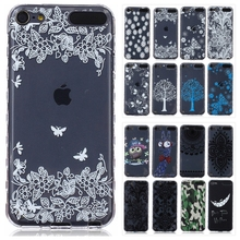 3D Soft TPU Gel Case for Apple iPod Touch 5 6 Touch6 Transparent Silicon Back Cover Cute Bear Giraffe Flower Phone Cases