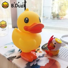 B.Duck Coin Bank Duck Anime Action Figures PVC Vinyl Doll Cute Duck Toys for Children 16cm 1pc(China)