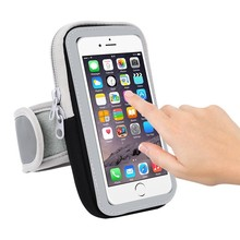 "General Sport Arm Band Case For Iphone 6 6s 7 Plus Reflecting Mark Running Arm Cover Breathable Bag 4.7-5.5"" Below(China)"
