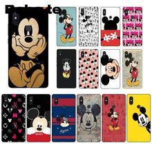 Babaite Mickey Mouse Black TPU Soft Silicone Phone Case Cover Xiaomi Mi 6 Mix2 Mix2S Note3 8 8SE Redmi 5 5Plus Note4 4X 5