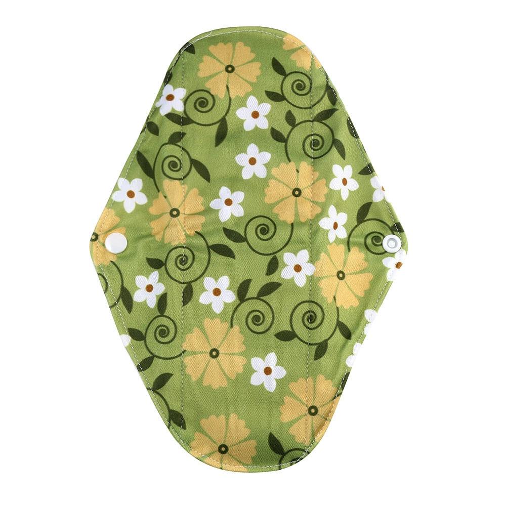 1pc New Arrival Women's Reusable Bamboo Cloth Washable Menstrual Pad Mama Sanitary Towel Pad Pretty Feminine Hygiene Product 26