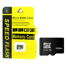 2017 new design yellow Blister memory card  TF card 100% real capacity  4GB/8GB/16 GB/32 GB  micro sd card TF card