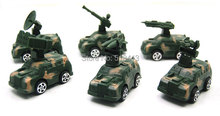 Children's Toys Plastic Toys Puzzle Toy Car Back To Power Military War Military Vehicles(China)