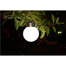 High Quality Outdoor Stainless Steel Solar Garden LED Lights Street Lamps Hanging Lamps