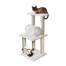 2018 Pet Cat Climbing Frame Animal Puppy Multi-layer Cat Tree Cat Scratch PAW Road Cat Tree Board Condo Luxury Furniture(China)