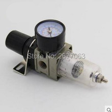 "AW2000-02 SMC Type Air Filter Regulator, 1/4"" Port ,Water Moisture Trap ,1/4 Inch Air Treatment Units(China)"
