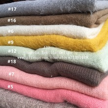 Thin and Soft Stretch Knit Fabrics Patchwork DIY Fabrics Newborn Photography props Soft Sweater Scarf Angora Fabrics
