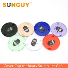 SUNGUY Studio Battery Cover Replacement Beats Headphone Accessories for Studio Wired Headphone Battery Cover Cap Black White Red