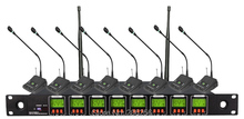 New Promotions OK-8/978 professional Eight channels wireless microphone system,8 channels multichannel Conference microphone