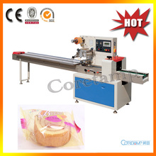 Automatic Pillow Bag Packaging Machine for Donuts(China)