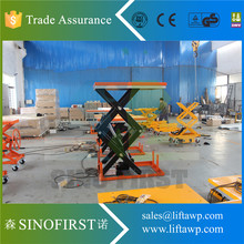 2017 China SINOFIRST  Double Scissors Electric Lift Table for Hot Sales