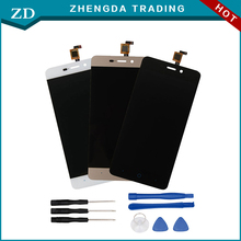 For ZTE BLADE X3 A452 LCD Display+Touch Screen 100% Original Screen Digitizer Assembly Replacement For ZTE Cell Phone+Tools