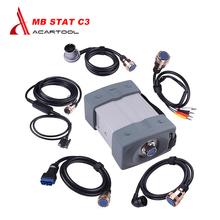 Quality A mb star c3 full set with all cables mb c3 star diagnosis tool for car and trucks star c3 multiplexer without software