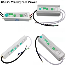 LED Power Supply Waterproof Driver AC110~220V To DC 12V Transformer 10w 15w 20w 30w 45w 60w 80w 100w Adapter For led Strip Light(China)