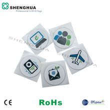 6pcs/pack RFID Bluetooth Android Reader HF Passive NFC Tag Sticker For Printing Customized Design