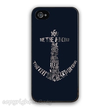 Navy Blue Anchor Sailor Pattern Quote Design Vintage Fashion Cell Phonecase for iphone 4S/5S/SE/6/6S/Plus Mobile Phone Case