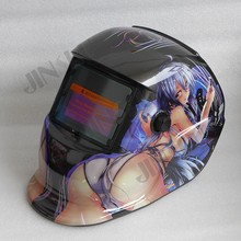 2 in 1 Grind and Weld Welding Helmet Solar Auto Darkening Welding Mask Welding Glass Welder Cap TIG MIG MAG MMA Welder girl