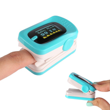 Portable Fingertip Pulse Oximeter Oxygen Saturation Monitor With Easy to Read OLED Display Support Automatic Power-off B-2(China)