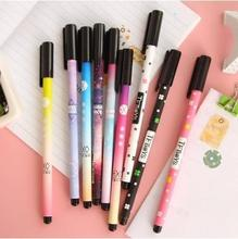 2017 Shoes Woman Cartoon Pattern Gel Pen For Students Test / Kawaii Office Stationery Supplier Unisex For Kids 12pcs/lot Arc804