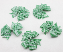 Baby Girl Boutique Plaid Hair Bow Clips for Girl and Woman Hair Holiday Set Hair Accessary Baby Hairbow 20pcs/lot Free Shipping