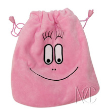 Anime/Cartoon Les Barbapapa Pink Jewelry/Cell Phone Drawstring Pouch/Wedding Party Gift Bag (DRAPH_25)