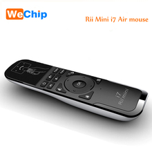 Hot Original Mini Fly Air Mouse i7 2.4G Wireless Remote Built-in 6 Axis for PC/Smart tv/Android Box/PS3 Motion Sensing Gamer