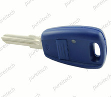 25pieces/lot blue 1 button car remote key shell replacements key case fob for fiat(China)
