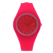 High quality Brand Fashion Simple Candy Color Casual Quartz Watch Men Women Watches Silicone Sport Wristwatches 8 colors(China)