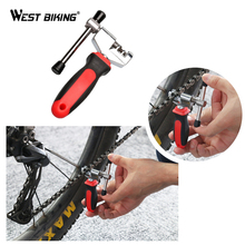 WEST BIKING Bike Chain Breaker Cutter Removal Tool Remover Cycle Solid Repairing Tools Bicycle Chain Pin Splitter Device(China)