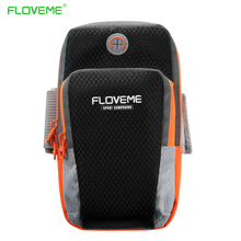 FLOVEME Sports Armband Pouch For iPhone 7 Plus 6 6s Plus 5S SE Running Arm Band Case For Samsung S8 S7 Edge S6 Note 5 Phone Bags