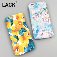 Colorful Flowers Oil Painting Back Cover for iPhone 5S Case For iphone 5 5S 6 6S Plus Fashion Art Hard Phone Cases Capa Fundas
