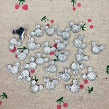 100 Pieces Flatback Flat Back Resin Cabochon Kawaii Resin Craft Decoration Cartoon Mouse DIY Embellishment Scrapbooking:12*15mm