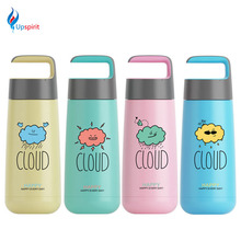 Special Sale 280ml Stainless Steel Thermos Moca Vacuum Flask Cute Thermo Bottle Drinkware Water Bottle Travel Mug Drinking Cup(China)
