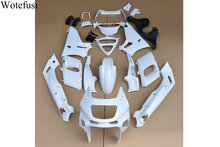 Wotefusi Injection White Unpainted Bodywork Fairing For Ninja ZZR 400 93 94 95 96 97 98 99 00 01 02 03 04 05 06 2007 [CK1028]
