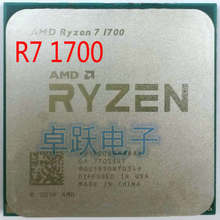 AMD ryzen 7 1700 Процессор процессор 8 Core 16 нитей AM4 3,0 ГГц 20 МБ TDP 65 Вт Кэш 14nm DDR4 Desktop YD1700BBM88AE(China)