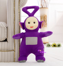 middle lovely plush Teletubbies toy stuffed purple doll gift about 35cm