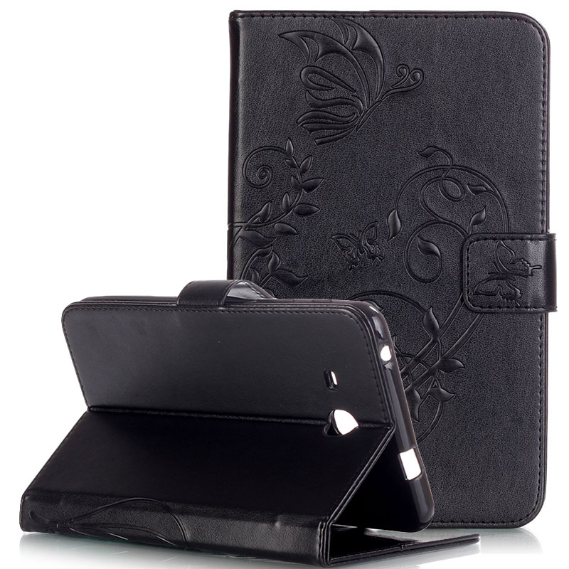 WeFor Cover Silicon Leather Case for Samsung Galaxy Tab A 7.0 T280/T285 Flip Book Style Stand with Card Holder [Painting]<br><br>Aliexpress