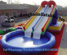 inflatable water slides for sale swiming pool commercial water slide