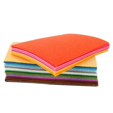 40 pcs DIY Polyester Felt Fabric Cloth Thickness Handmade Sewing Home Decor Hot Sale(China)