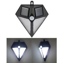Ultra Bright LED Solar Light Smart PIR Human Motion Sensor Outdoor Waterproof Street Path Garden Wall Lamp Security Spotlight